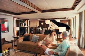butler service in the penthouse suite on celebrity equinox cruise
