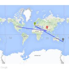 Google Map Europe by Google Static Map Path Starting From North America Although That