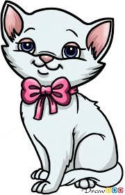 draw cute kitten cats kittens