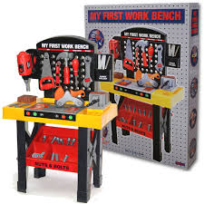 toy workbench kids childrens tool kit bench diy work station