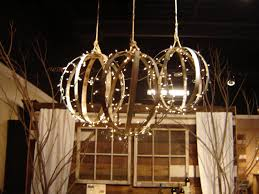 ideas unique round wine barrel chandelier and wood pergola design