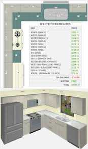 10x10 Kitchen Floor Plans by Mira Cucina Pricing Page Modern Rta Cabinets