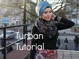 tutorial hijab nabiilabee hijab tutorial l diagonal overlap turban youtube