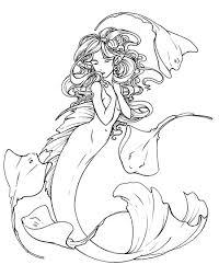 how to draw a mermaid tutorial drawing tutorials pinterest