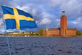 Sweedish Flag Swedish Computer Tablet And Smartphone Owners May Have To Pay A