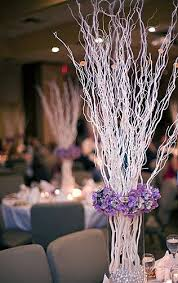 winter wedding centerpieces with branches pictures of modern