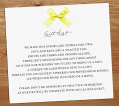 best wedding gift registry 10 best ideas for no gifts images on wedding gift poem