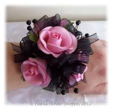 Cheap Corsages For Prom Wrist Corsage For Homecoming For Black Dress Pretty In Pink