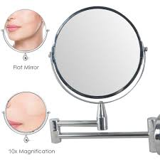 online shop 1pcs bathroom makeup mirror 10x magnification wall