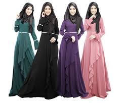 jubah moden qoo10 2017 muslim muslimah dress jubah baju kurung women s