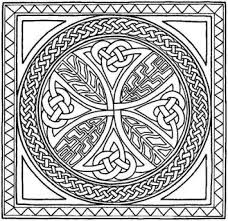 celtic mandala coloring pages intended to motivate to color pages
