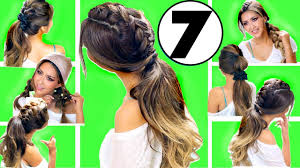 top 7 easy everyday hairstyles of 2017 hairstyles for