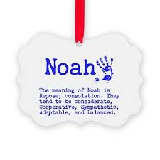 the meaning of noah ornament by itsallinthename