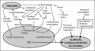 advances in the understanding of trauma induced coagulopathy