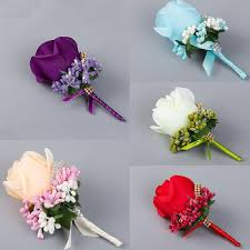 cheap corsages 1 pc ivory best corsage for groom groomsman silk