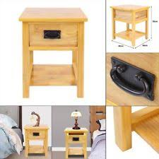 oak rustic side u0026 end tables ebay