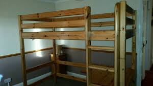 Flexa Bunk Bed Flexa High Bunk Bed System Single Bed With Ladder And Desk In