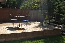 Beautiful Decks And Patios by Low To Grade Wood Deck In Oakville On Bronte Creek Archadeck