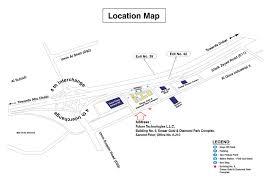 Metro Station Map In Dubai by Future Technologies Uae