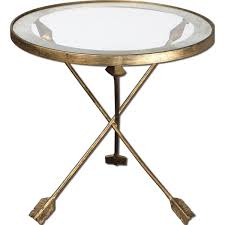 uttermost accent tables uttermost aero glass top accent table free shipping today