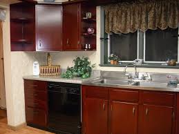 Dark Stained Kitchen Cabinets The Safe Staining Kitchen Cabinets Dream House Collection