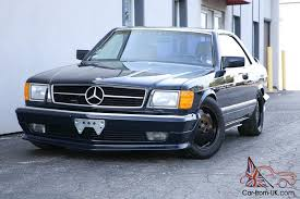 mercedes sec 560 amg mercedes 560 sec amg only 73k w126 coupe condition 560sec