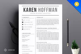 photo resume format resume cv template resume templates creative market