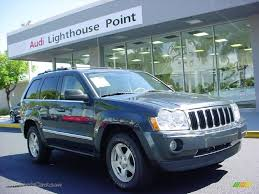 2007 jeep grand cherokee limited 4x4 in steel blue metallic