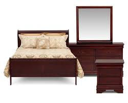 Beautiful Bedroom Furniture Bedroom Sets Furniture Row - King size bedroom set malaysia