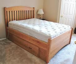 the slat arch bed boulder furniture arts