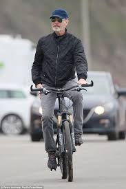 film foreigner 2016 pierce brosnan wife keely and son dylan 19 go cycling in malibu