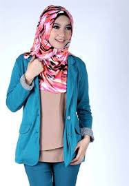 blazer wanita muslimah modern contoh model blazer wanita muslimah 2015 2016 287 29 jpg 354 512