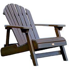 Used Adirondack Chairs Amazon Com Polywood Ad5030wh Classic Folding Adirondack White