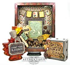 autumn home decor with authentique bountiful by kathy clement