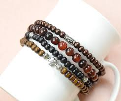 make men bracelet images How to make multistrand cool beaded bracelet for men jpg