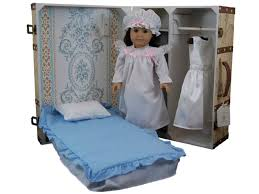 doll storage trunk u0026 bed for 18