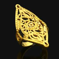 sizing rings prices images Adjustable size dubai gold rings 24k gold color ring for women jpg
