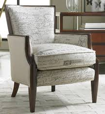 Fabric Chairs For Living Room by Sam Moore Living Room Nadia Exposed Wood Chair 4508sm Sam Moore