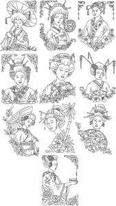 advanced embroidery designs redwork u003e u003e oriental embroidery designs