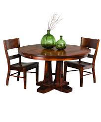 vienna round dining table amish direct furniture vienna amish round table collection