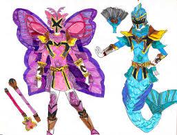 mystic force battlizers lavenderranger deviantart
