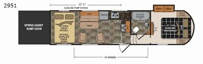 voltage toy hauler floor plans voltage toy hauler floor plans luxury new 2018 dutchmen rv triton