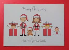 personalised christmas cards christmas cards ebay