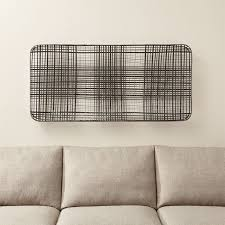 wall wood metal and fabric designs crate and barrel