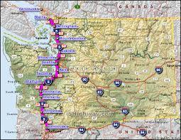 map of oregon i 5 i 5 washington