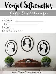 printable gift card printable gift certificate