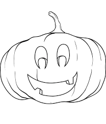 free printable pumpkin coloring kids 7