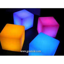 43cm color changing outdoor led cube light