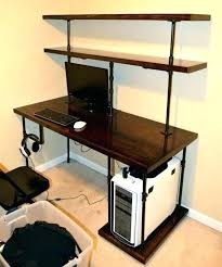 under desk shelving unit computer desk with bookshelves computer desk bookshelf with amazon