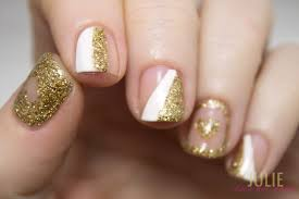 white and gold nail art images nail art designs